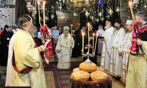 Πατριαρχείο Ιεροσολύμων: Εορτή του Γενέθλιου της Θεοτόκου (video)