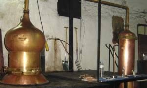 Ένας τόνος τσικουδιάς κατασχέθηκε στην Κίσαμο Χανίων
