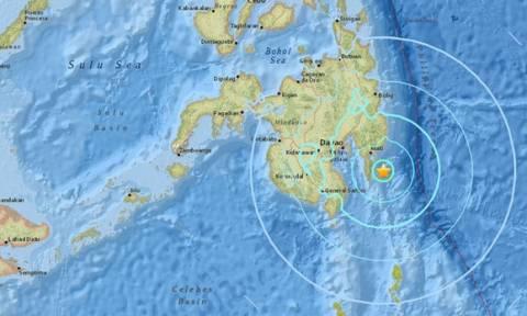 Ισχυρός σεισμός ταρακούνησε τις Φιλιππίνες