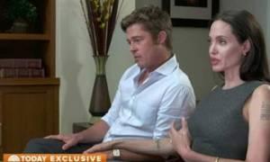 Τρελό γέλιο: Κοινή συνέντευξη Μπραντ Πιτ- Αντζελίνα Τζολί στα ελληνικά! (video)