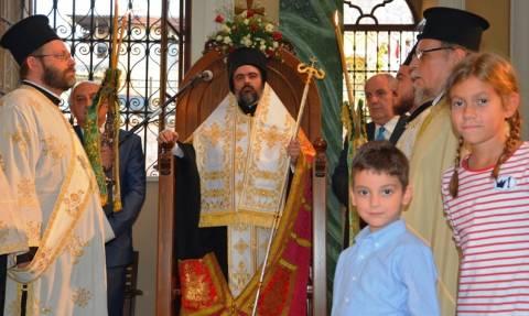 Ιστορικά κειμήλια του Ιερομάρτυρος Χρυσοστόμου παρέλαβε ο νέος Μητροπολίτης Σμύρνης (pics)
