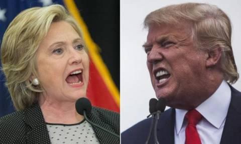 Η.Π.Α.: Πρώτο debate Κλίντον – Τραμπ εν μέσω έντασης