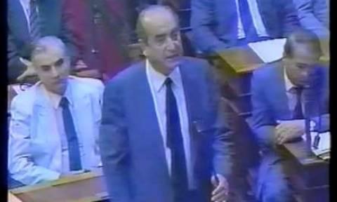 Όταν ο Κ. Μητσοτάκης έκλαψε στη Βουλή (vid)