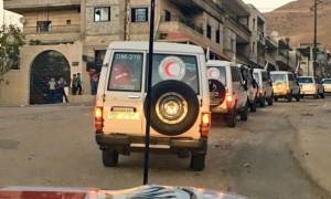 Syria conflict: Aid reaches Madaya and other besieged towns