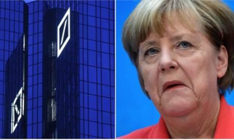 Τους το... ξέκοψε η Μέρκελ! Δεν θα βοηθήσουμε την Deutsche Bank