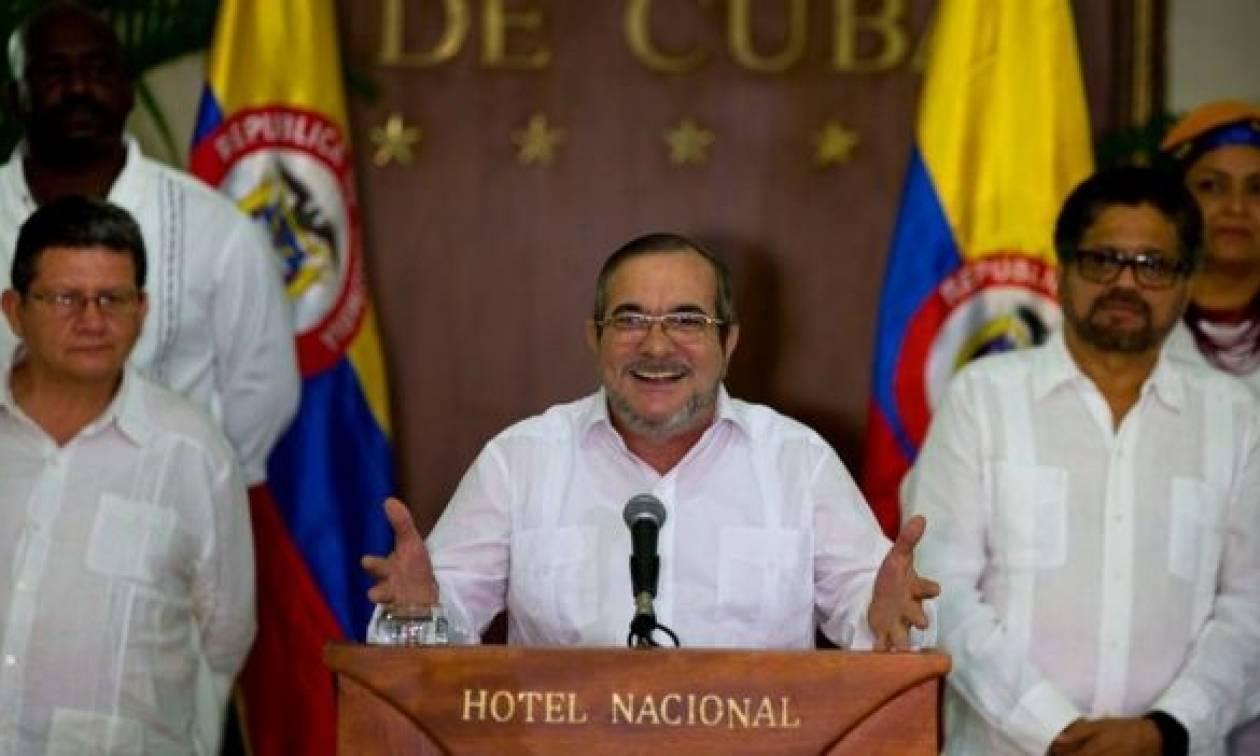 Κολομβία: Ο ηγέτης των FARC ζήτησε συγγνώμη από τα «θύματα του πολέμου»