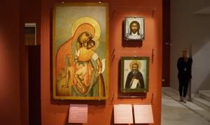 В Афинах проходит выставка икон из Третьяковской галереи