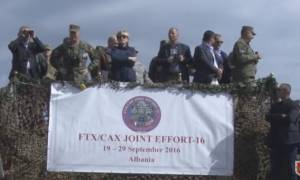 Διεθνής άσκηση «Joint Effort-16» στην Αλβανία