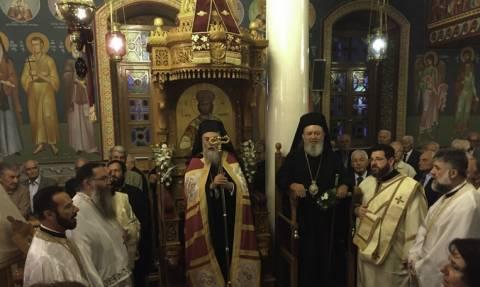 Ο εορτασμός του Αγίου Ιωάννου του Θεολόγου στο Μαντούδι
