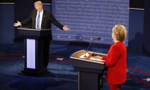 Εκλογές ΗΠΑ 2016: Δείτε στα ελληνικά το πρώτο debate ανάμεσα στην Κλίντον και τον Τραμπ (Vids)