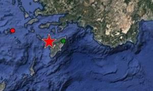 Ισχυρός σεισμός ταρακούνησε τα Δωδεκάνησα – Κοντά στη Ρόδο το επίκεντρο