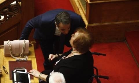 Στη Βουλή η Μαριέττα Γιαννάκου