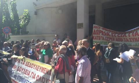 Υπουργείο Υγείας: Συγκέντρωση διαμαρτυρίας εργαζομένων στα δημόσια νοσοκομεία (pics)