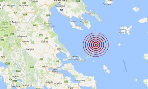 Σεισμός 4 Ρίχτερ στο βόρειο Αιγαίο