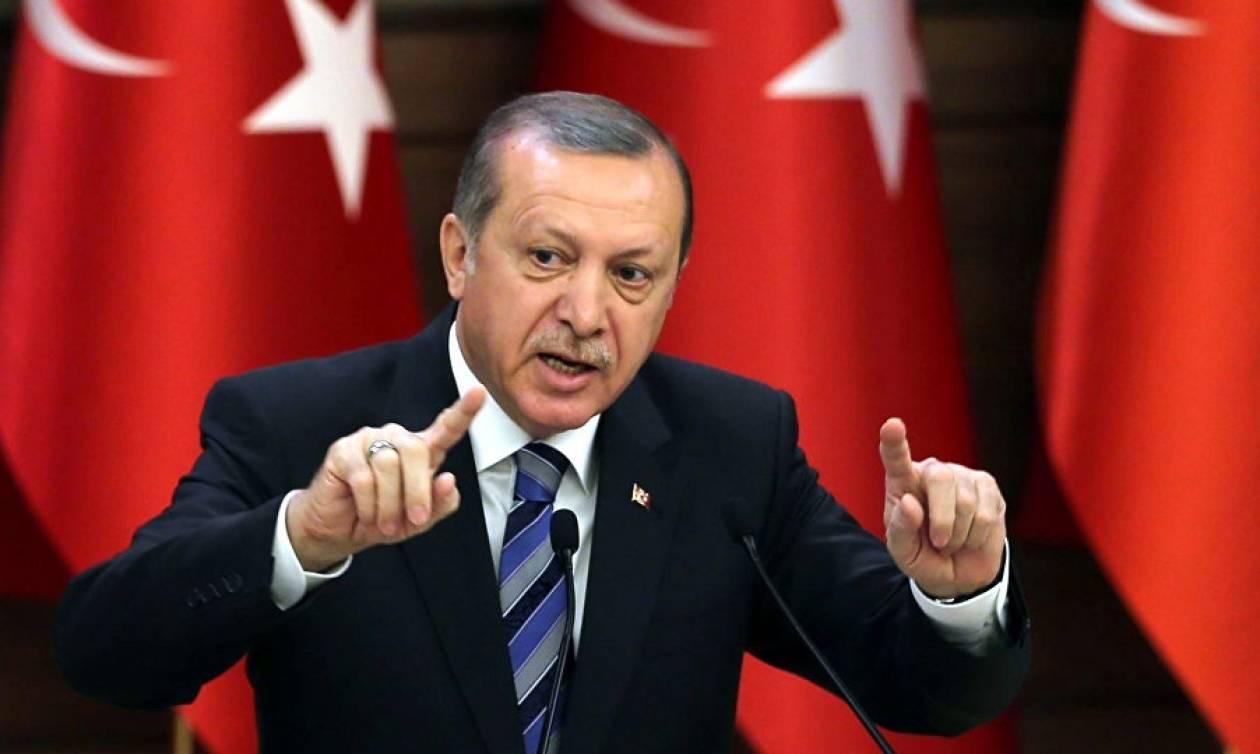 Αδιανόητη πρόκληση Ερντογάν - Αμφισβητεί τα σύνορα με την Ελλάδα (Vid)