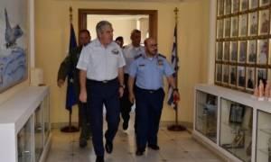 Πολεμική Αεροπορία: Επίσκεψη του Διοικητή των Αεροπορικών Δυνάμεων και Αεράμυνας της Σ. Αραβίας