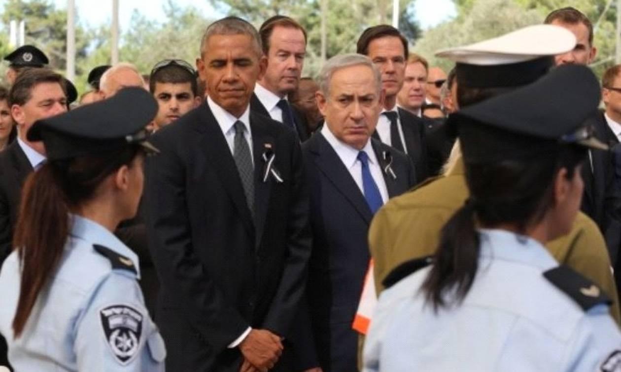 Ισραήλ: Παρουσία δεκάδων ηγετών η κηδεία του Σιμόν Πέρες (pics+vids)