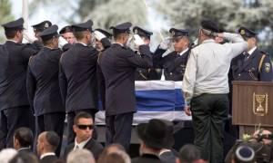 Shimon Peres funeral: Leaders hail legacy of former Israeli leader