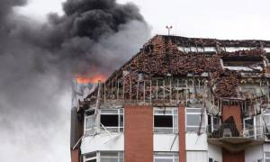 Two dead, 15 injured in deadly hospital fire in German city
