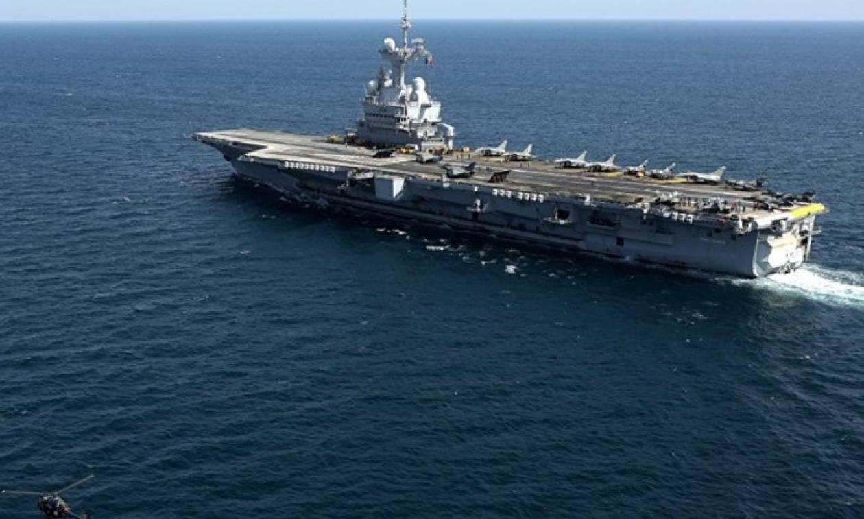 Νέες γαλλικές επιχειρήσεις κατά του Ισλαμικού Κράτους από το αεροπλανοφόρο Charles de Gaulle