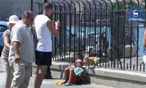 Ρόδος: Τσιγγάνα επιτέθηκε και δάγκωσε λιμενικό στο χέρι