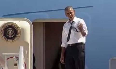 Απηύδησε ο Μπάρακ Ομπάμα: «Μπιλ πάμε» (video)