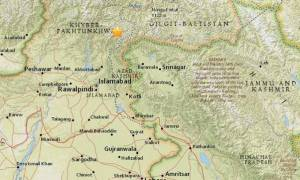 Ισχυρός σεισμός ταρακούνησε το Πακιστάν