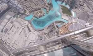 Δείτε τι παθαίνει ένα iPhone 7 όταν το πετάξεις από το ψηλότερο κτήριο του κόσμου (video)
