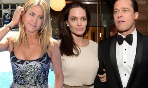 Αυτό δεν το περιμέναμε: Αngelina Jolie και Brad Pitt….