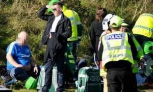 Τραγωδία στη Σκωτία: Θανατηφόρο τροχαίο με οπαδούς της Ρέιντζερς (pics)