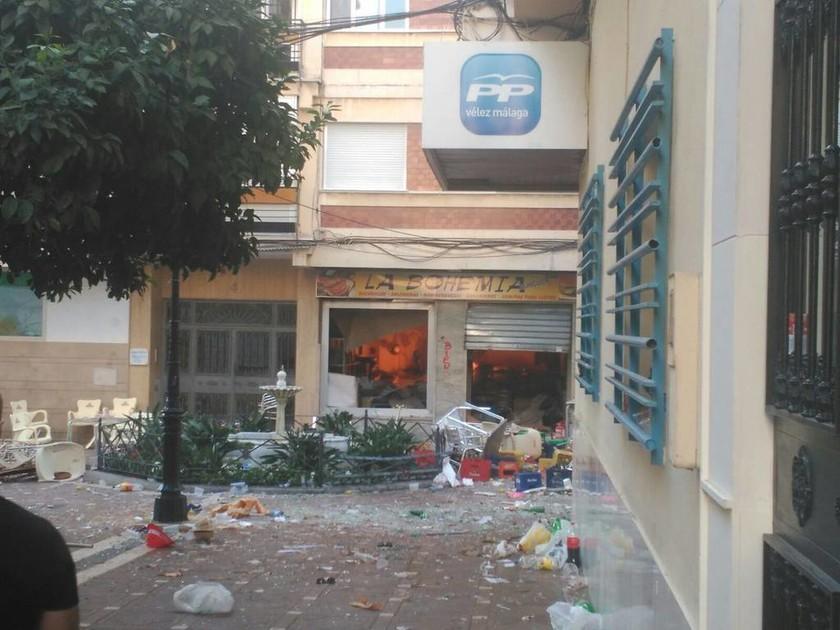 Συναγερμός στην Ισπανία: Τουλάχιστον 77 τραυματίες από ισχυρή έκρηξη στη Μάλαγα