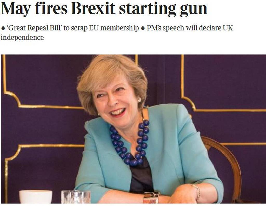 ΕΚΤΑΚΤΟ: H Τερέζα Μέι ανακοίνωσε την ημερομηνία για το Brexit
