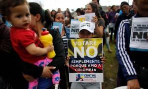 Κολομβία: Οι πολίτες απέρριψαν τη συμφωνία ειρήνης με τους αντάρτες FARC!