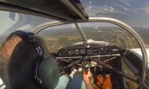 Τρομακτική στιγμή: Αεροπλάνο έχασε τον έλικα στον αέρα - Δείτε πώς προσγειώθηκε (vid)