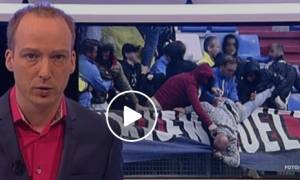 Σοκ: Χούλιγκανς της Βίλεμ έδειραν και πέταξαν οπαδό της Φέγενορντ από την εξέδρα (video)