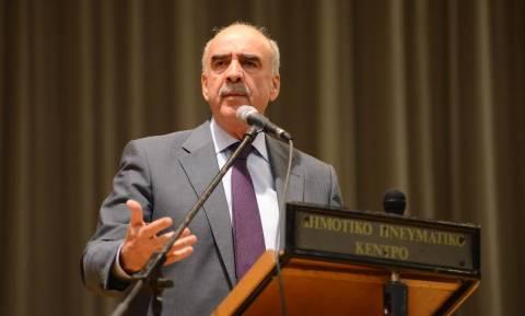 Μεϊμαράκης: Επιβάλλεται εθνική συνεννόηση σε κρίσιμα ζητήματα