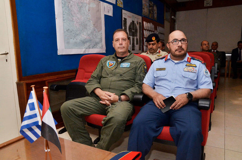 Επίσκεψη του Διοικητή των Αεροπορικών Δυνάμεων και Αεράμυνας των ΗΑΕ σε Μονάδες της ΠΑ και την ΕΑΒ