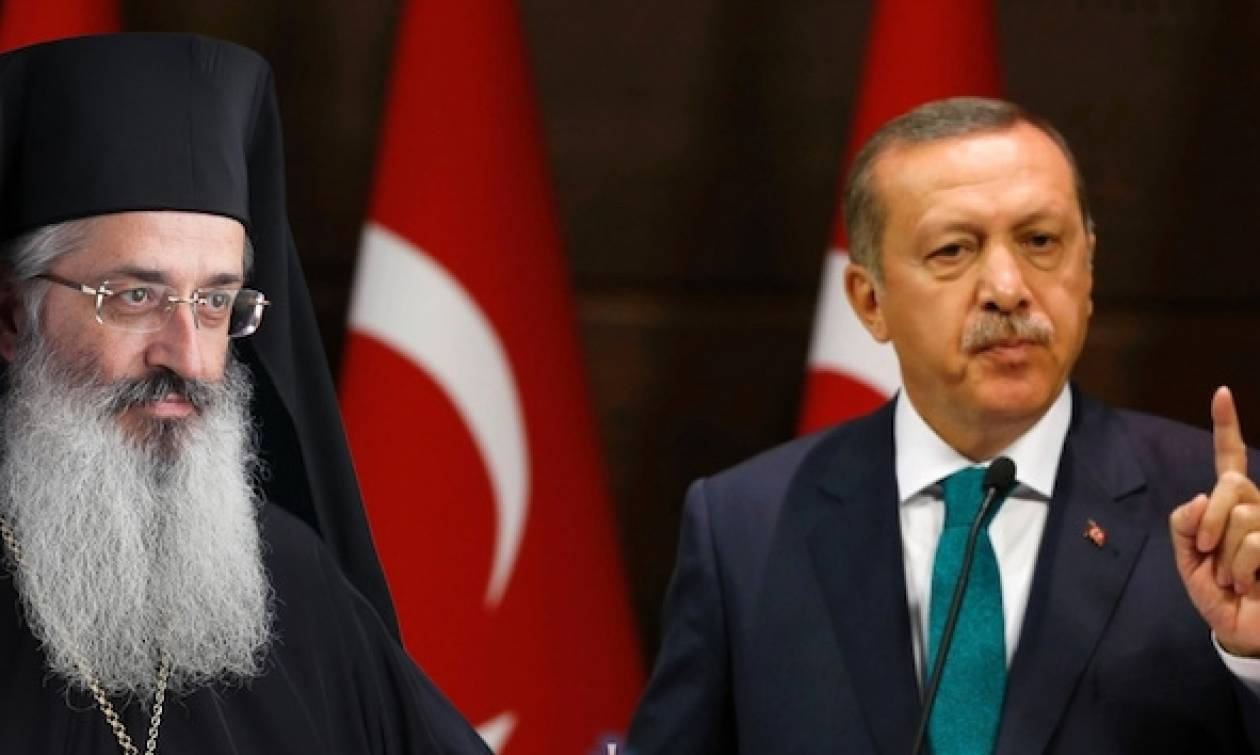 H απάντηση του Μητροπολίτη Αλεξανδρουπόλεως στον Ερντογάν για την Λωζάννη