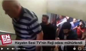 «Όποιος διαφωνεί με τον Ερντογάν θα φιμώνεται»: Η αστυνομία εισέβαλε σε φιλοκουρδικό κανάλι (Vid)