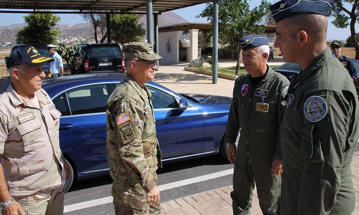 Στη 115 ΠΜ ο Ανώτατος Διοικητής των Συμμαχικών Δυνάμεων Ευρώπης (pics)