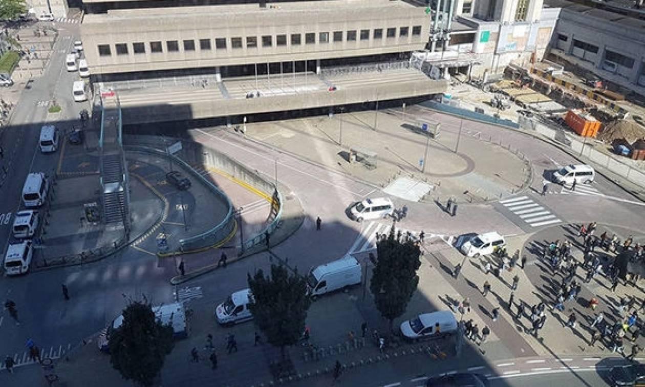 Συναγερμός στις Βρυξέλλες λόγω απειλής για βόμβα (pics+vid)