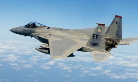 Θρίλερ στην Κρήτη με αμερικανικό μαχητικό F-15