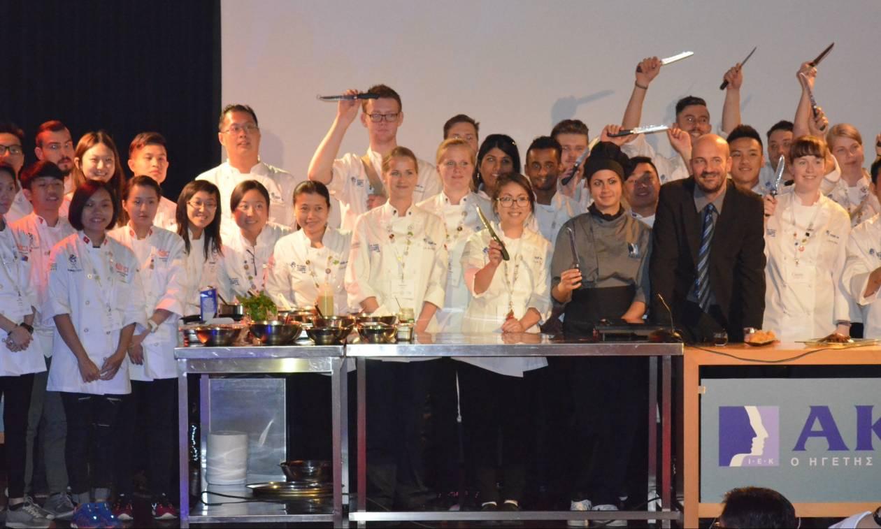 «Το ΙΕΚ ΑΚΜΗ κατέκτησε την πρωτιά στο Παγκόσμιο Συνέδριο Αρχιμαγείρων Worldchefs Congress»