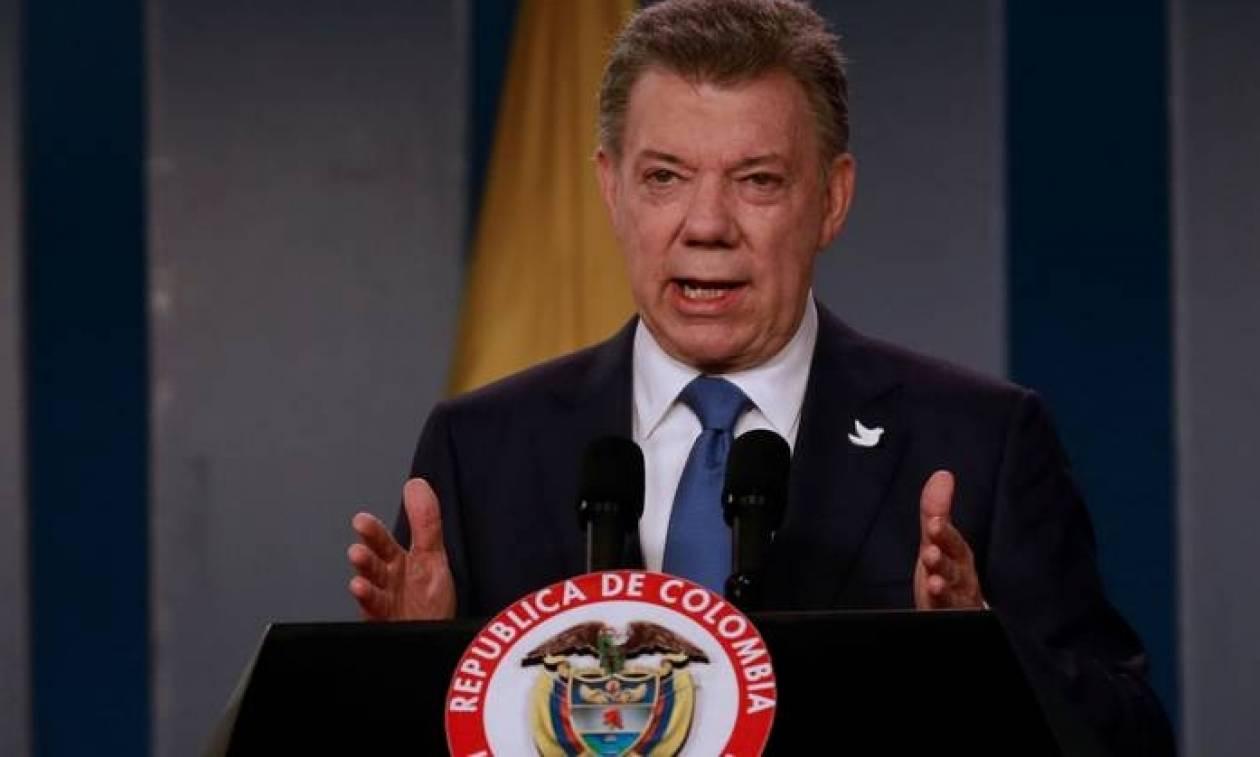 Στον πρόεδρο της Κολομβίας το Νόμπελ Ειρήνης - Έχασαν οι Έλληνες νησιώτες