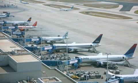 «Καθηλωμένα» τα αεροπλάνα στα ελληνικά αεροδρόμια την Κυριακή (9/9)