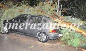 Κακοκαιρία στη Ζάκυνθο - Ανεμοστρόβιλος προκάλεσε καταστροφές! (pics)