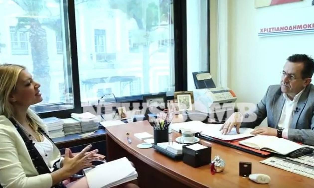 Ο Νίκος Νικολόπουλος στο Newsbomb.gr: «Στα σκαριά κόμμα με ηγέτη ιεράρχη»
