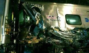 Εκτροχιασμός τρένου στις ΗΠΑ: Σφοδρή πρόσκρουση επιβατηγού τρένου με συρμό (Pics+Vid)