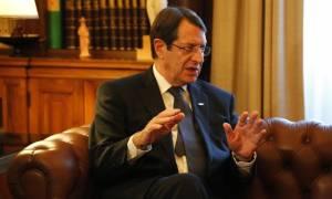 Στην Αθήνα την Δευτέρα (10/10) ο Νίκος Αναστασιάδης