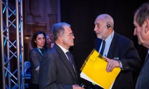 Πρόντι και Στίγκλιτς ένωσαν τις φωνές τους κατά της λιτότητας